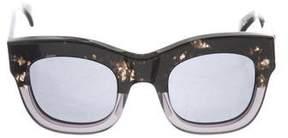 Illesteva Oversize Hamilton Sunglasses