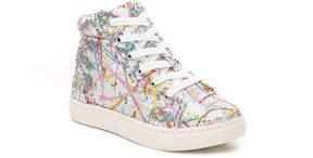Steve Madden Girls Sequel Youth High-Top Sneaker