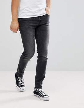Cheap Monday C/O Post Consumer Waste Recycled Denim Tight Skinny Jeans Washed Black