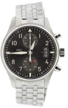 IWC Pilot Spitfire IW387804 Stainless Steel with Gray Dial 43mm Mens Watch