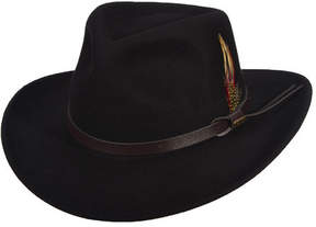 Scala Men's DF172EL Outback Fedora with Earlap