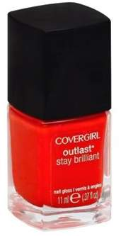 Cover Girl Outlast Stay Brilliant Nail Gloss Nail Polish, 93, Fury Furie.