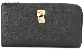 Dolce & Gabbana zip around purse - BLACK - STYLE