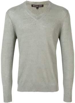 MICHAEL Michael Kors v-neck longsleeve sweater