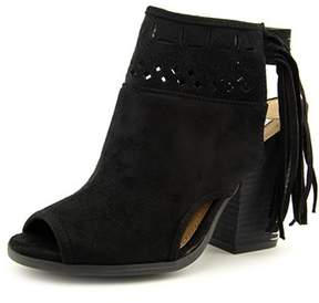 Not Rated Chiara Women Open-toe Canvas Bootie.