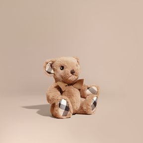 Burberry Thomas Baby Bear with Check Detail