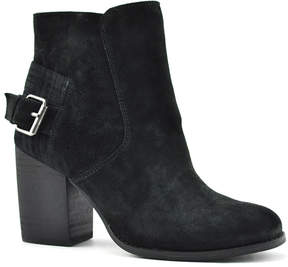 Sbicca Black Lorenza Suede Ankle Boot
