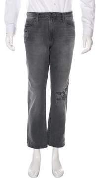 Frame L'Homme Slim Distressed Jeans
