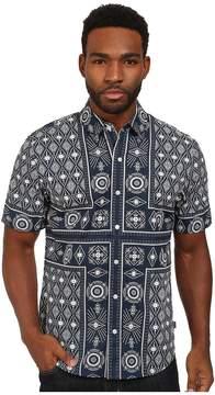 HUF Bandana Short Sleeve Shirt Men's Short Sleeve Button Up