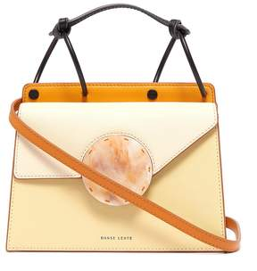 Danse Lente 'Phoebe Bis' spiral handle asymmetric flap crossbody bag
