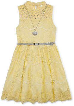 Knitworks Knit Works Sleeveless Fit & Flare Dress - Big Kid Girls