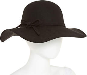 Scala Stitch Brim Bow Floppy Hat