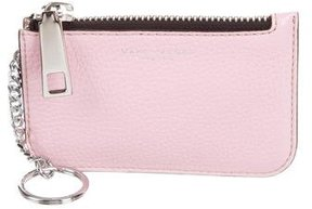 Marc Jacobs Leather Coin Pouch - PINK - STYLE