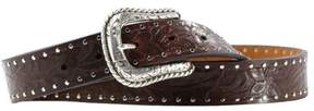 Ariat A10004673-34 Womens Western Embossed Belt, Size - 34