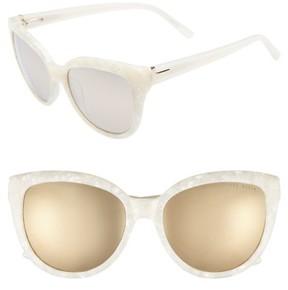 Ted Baker Women's 57Mm Cat Eye Sunglasses - Ivory
