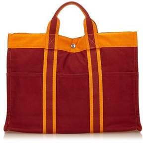 Hermes Pre-owned: Fourre Tout Mm. - RED X ORANGE - STYLE