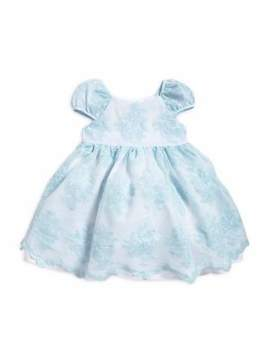Laura Ashley Little Girl's Embroidered Dress