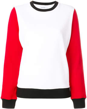 Courreges colour-block sweatshirt