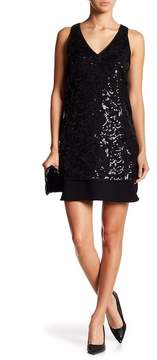 Fifteen-Twenty Fifteen Twenty V-Neck Sequin Dress