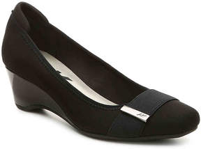 Anne Klein Women's Nearly Wedge Pump