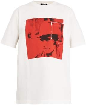 Calvin Klein Dennis Hopper-print cotton-jersey T-shirt