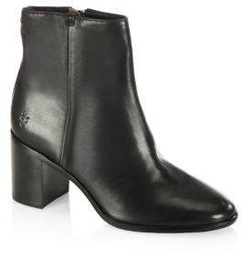 Frye Julia Leather Ankle Boots