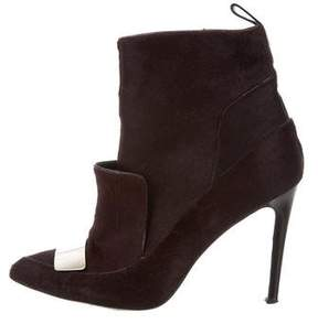 Jason Wu Ponyhair Ankle Boots