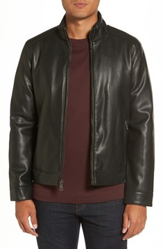 Cole Haan Men's Faux Leather Jacket