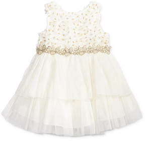 Nanette Lepore Metallic Tiered Dress, Baby Girls (0-24 months)