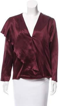 Masscob Satin Silk Blouse