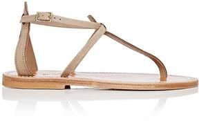 K. Jacques Women's Buffon T-Strap Nubuck Sandals
