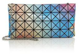 Bao Bao Issey Miyake Prism Aurora Faux Leather Clutch