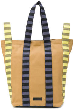 Marni striped tote