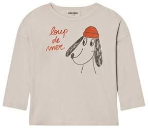 Bobo Choses Beige Loup de Mer T-Shirt