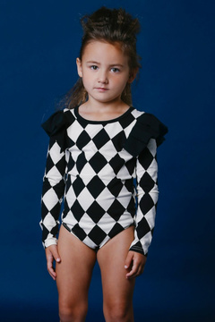 Rock Your Baby Harlequin Leotard