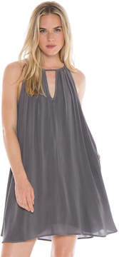 Bella Dahl Handkerchief Halter Dress-Night Shade-XS