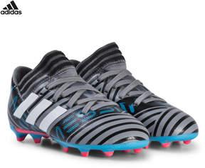 adidas Grey Nemeziz Messi 17.3 Firm Ground Football Boots
