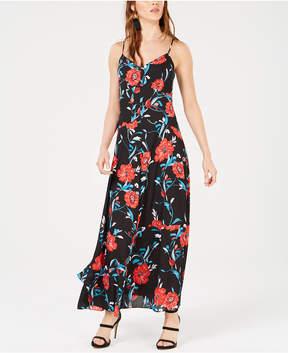 Bar III Floral-Print Maxi Dress, Created for Macy's