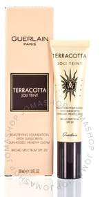Guerlain Terracotta Joli Teint Healthy Glow Foundation SPF 20 (moyen) 1.0 oz