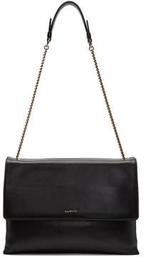 Lanvin Black Medium Sugar Bag