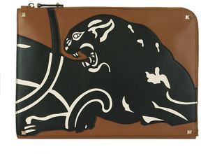 Valentino Garavani Panther Document Holder