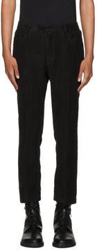Ann Demeulemeester Black Niles Trousers