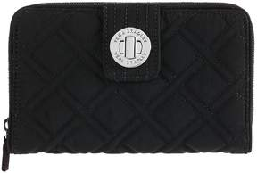 Vera Bradley Turnlock Wallet - VERA VERA CLASSIC BLACK - STYLE