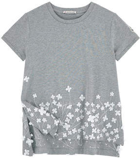 Moncler Flower-printed T-shirt - Maglia