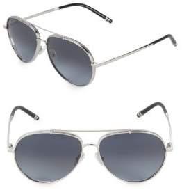 Boucheron 58MM Aviator Sunglasses
