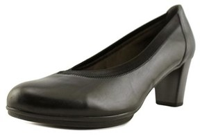 Gabor 95.232 Round Toe Leather Heels.