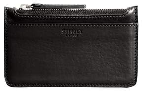 Shinola Leather Zip Pouch