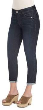Democracy Cropped Mid-Rise Jeans