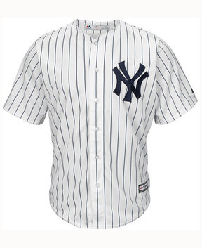 Majestic Men's New York Yankees Blank Replica Jersey