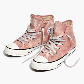 Madewell Converse® Chuck Taylor All Star High-Top Sneakers in Faux Fur